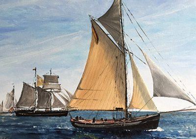 Schiffe & Wasser