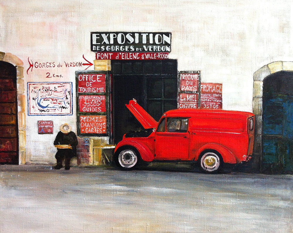 En panne - Öl auf Leinwand - 2005