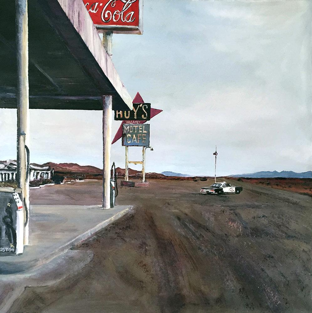 Endstation - Öl auf Leinwand - 2004