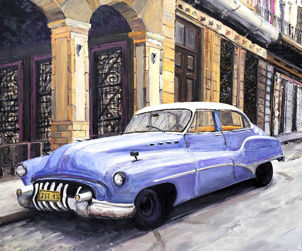 Havanna - Öl auf Leinwand - 2015