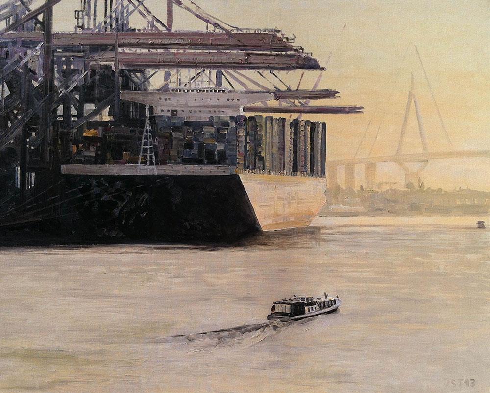 Marco Polo - Öl auf Leinwand - 2013