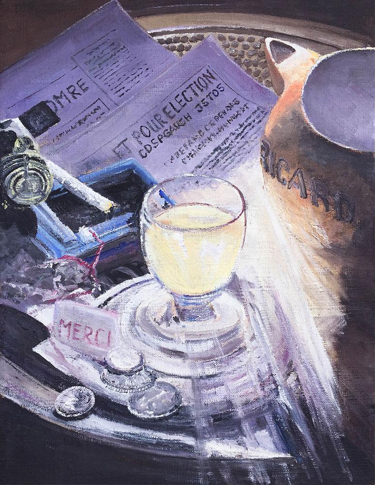 Ricard - Öl auf Leinwand - 2005