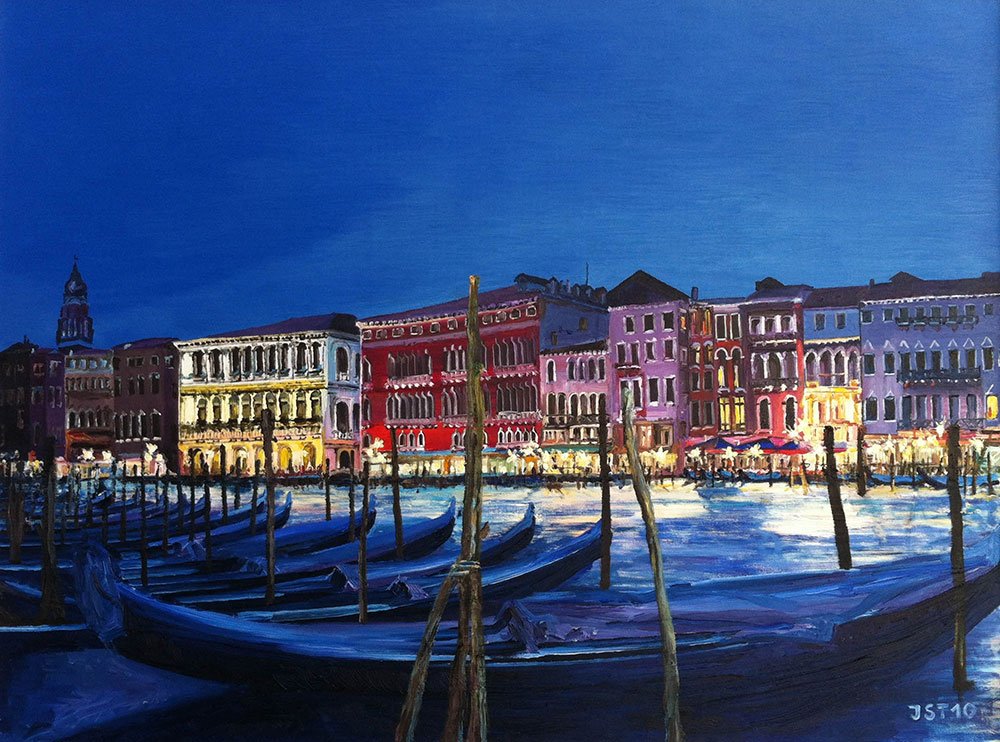 Venedig - Öl auf Leinwand - 2010