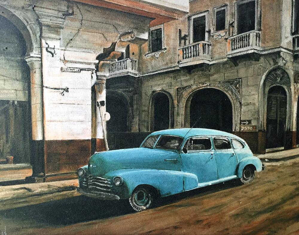 Cuba - Öl auf Leinwand - 2002