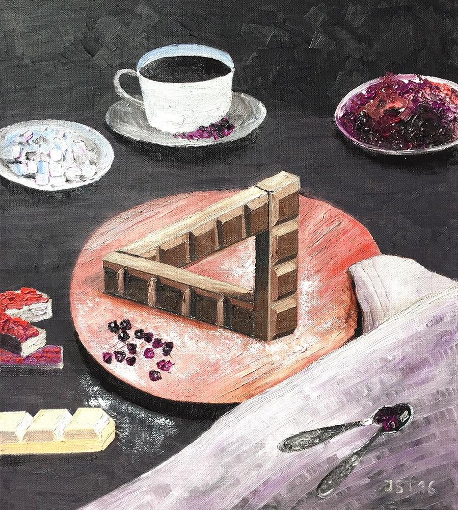 Chocolat - Öl auf Leinwand - 2016