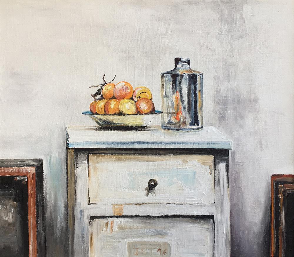 Les Oranges - Öl auf Leinwand - 2016